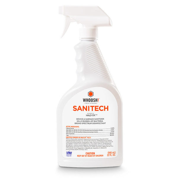 Sanitech EPA Approved Sanitizer - 32 oz.