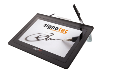 SIGNOTEC FOR LARGER AND COLOR SIGNATURE PADS